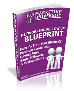 Networking Follow Up Blueprint