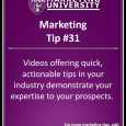 It's easier than ever to create videos you can use for your marketing and become known as the expert in your industry without spending a fortune.