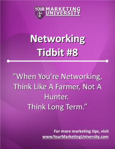 Networking Tidbits 08