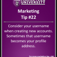 Is your social media username in sync with your business branding? What Does Your social media username Say About You?