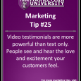 Video testimonials are more powerful than text only. People see and hear the love and excitement your customers feel.